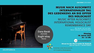 Dana Barak Holocaust-Gedenktag 2020
