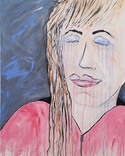 I Closed My Eyes and I Slipped Away, Classic Rock Painting by Randy Zucker