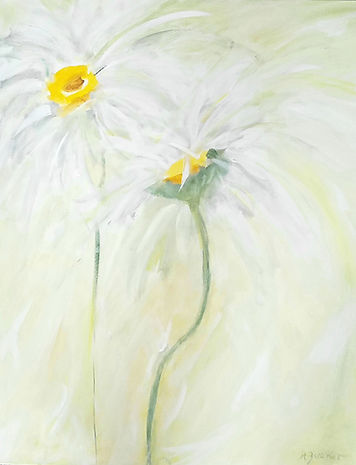 Daisy, Daisy. 24 x 30 inches. $550.00.