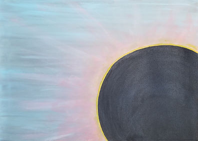 Everything Under The Sun Is In Tune But The Sun Is Eclipsed By The Moon, Classic Rock Painting by Randy Zucker