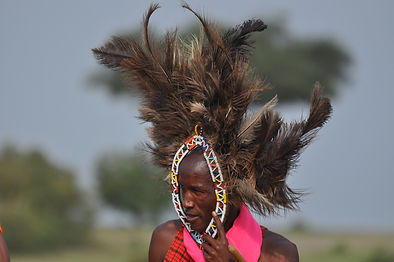 Masai Warrior,  Photograph by Randy Zucker