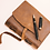 Thumbnail: Leather Journal Gift Set by Scriveiner London 7x5 inches