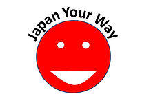 JapanYourWay logo custom tours flag smiley face