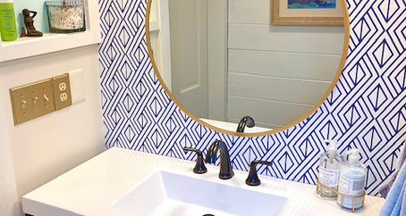 Nautical Bathroom for a Beach Cottage