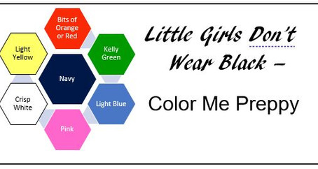 Little Girls Don't Wear Black - Color Me Preppy