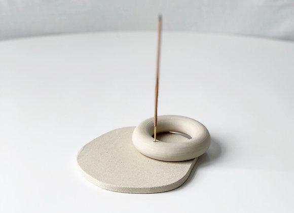 incense holder - donut