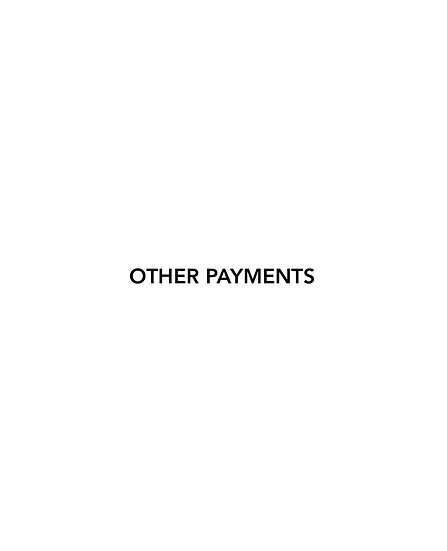 other payments