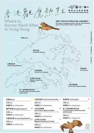 Survey Map of Black Kite