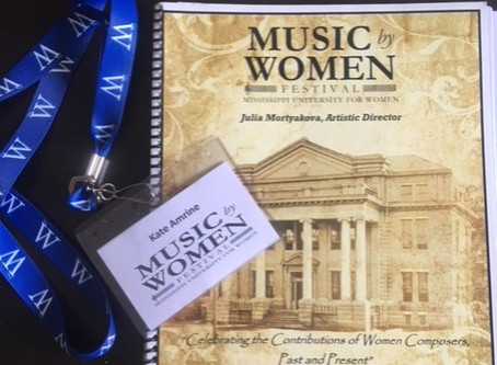 my Mississippi tour – Music by Women Festival + masterclass at MSU