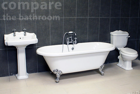 Edwardian Classic Freestanding Roll Top Bath