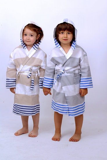 SUMMER KID'S BATHROBE