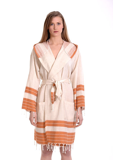 KAFTAN LINEN BATHROBE