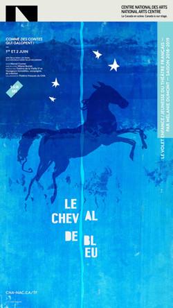 Cheval de Bleu / graphisme Gauthier Designers