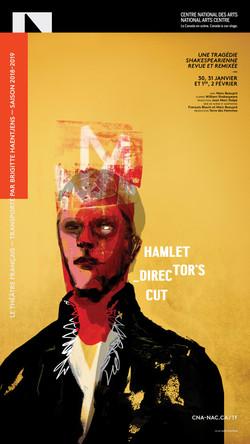 Hamlet director's cut / graphisme Gauthier Designers