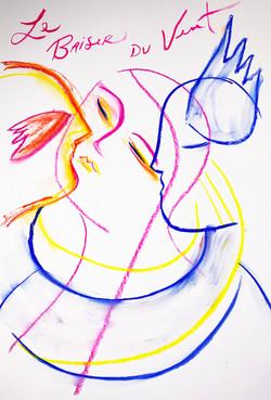 Le baiser du vent