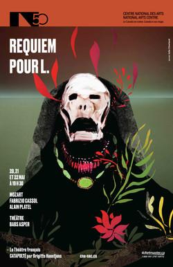 Requiem pour L / graphisme Gauthier Designers
