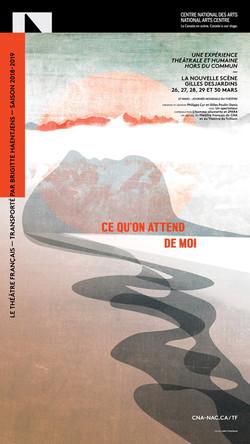 Affiche / théâtre français du CNA