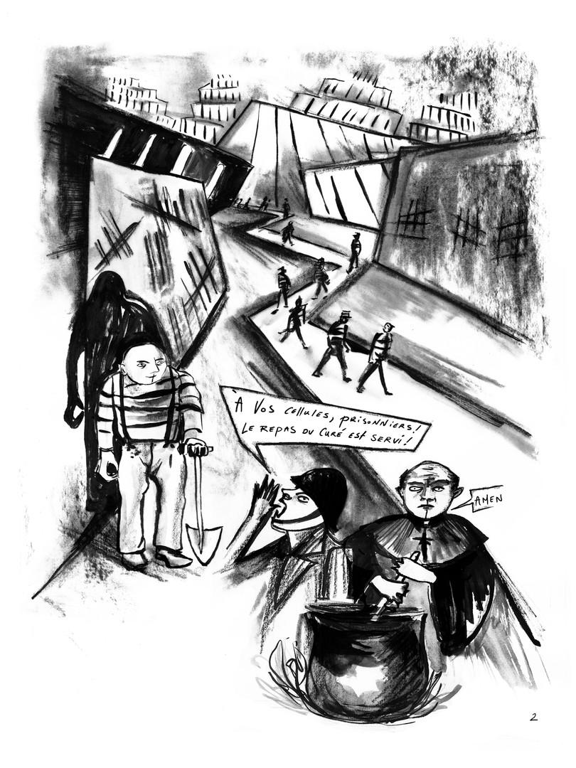 L'ascension, Vestibules