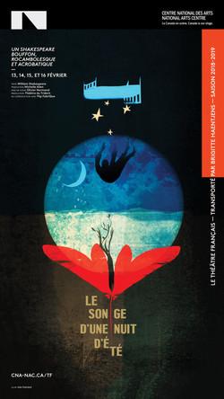 Le songe d'une nuit d'été / graphisme Gauthier Designers