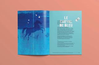 Brochure Saison 2018-19, Théâtre français du CNA / graphisme et photo Gauthier Designers