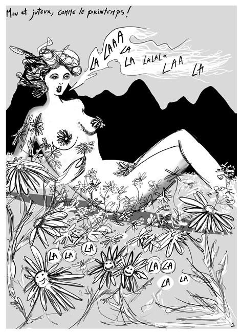 Extrait de Bagarre, Collectif colosse par Jimmy Beaulieu