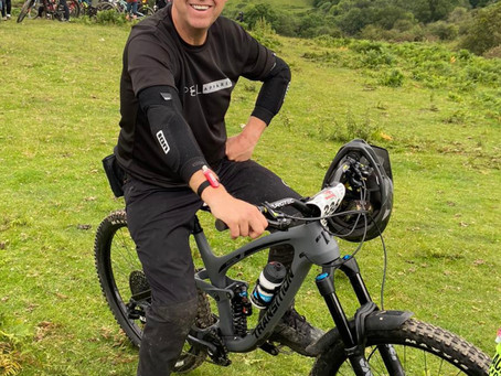 Coxy makes top 5 in category at the Welsh Enduro Series
