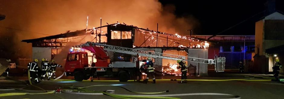 2019-08 Brandeinsatz Alarmstufe 3