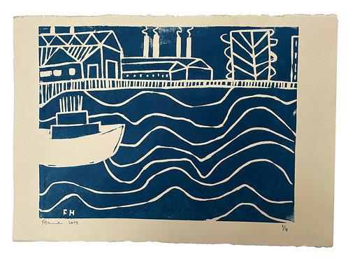 The Thames II (Blue)