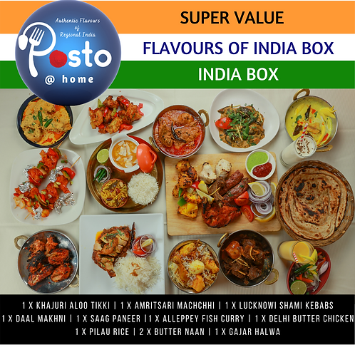 Flavours of India Box