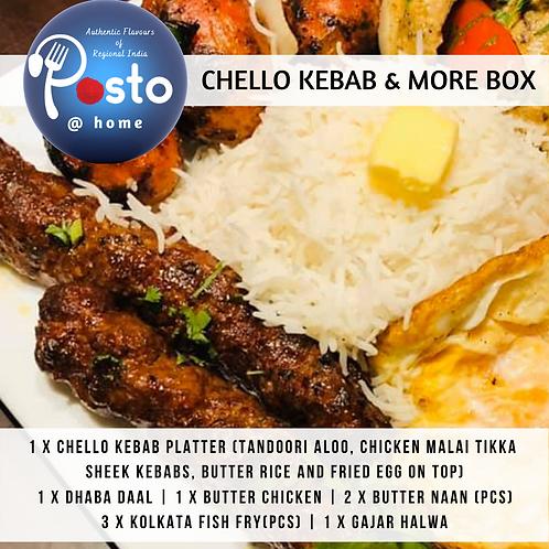 Chello Kebab and More Box