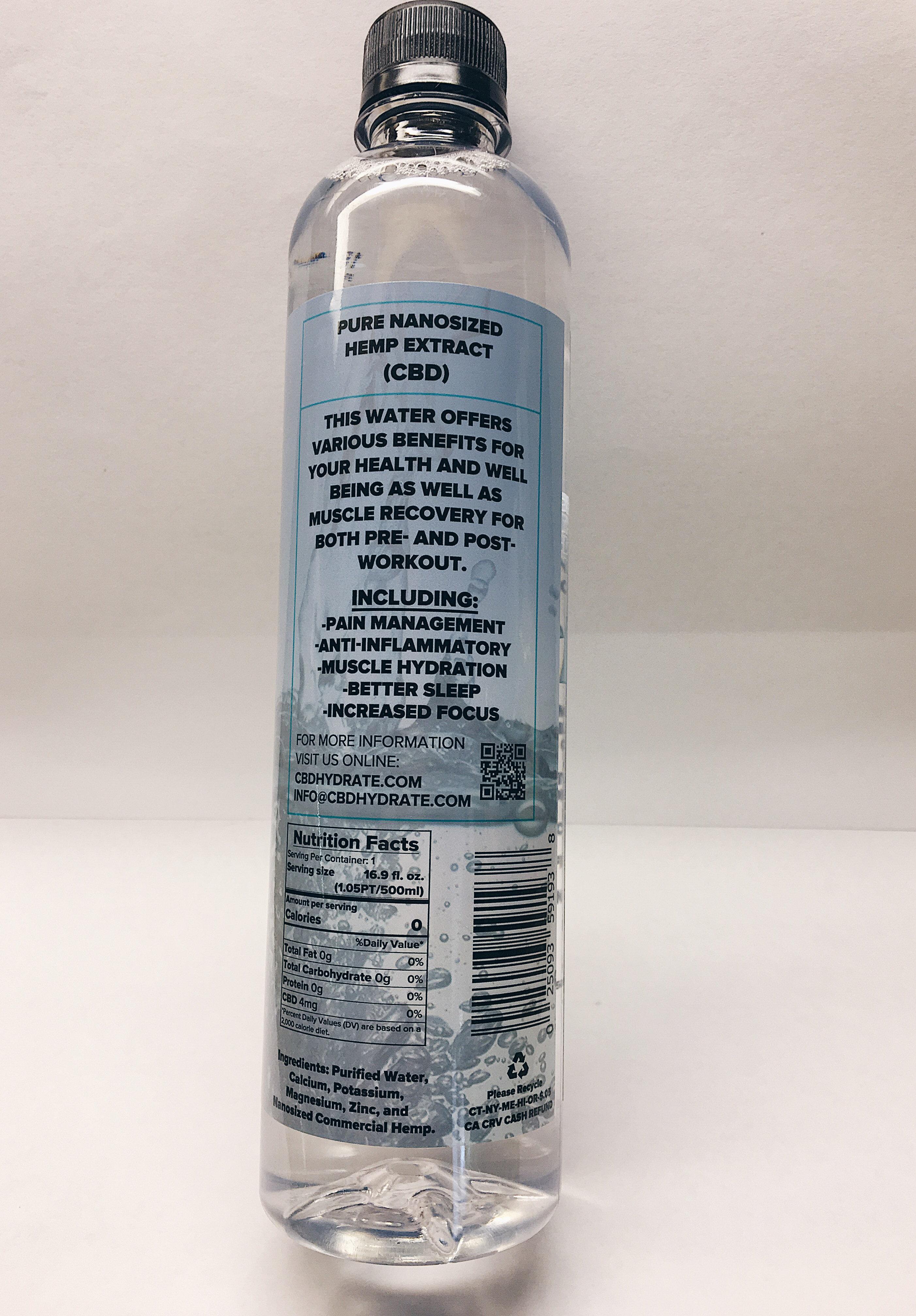 CBD Hydrate water