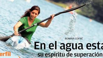 Alumna del Liceo Destacada en Canotaje por el diario El Sur