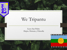 Celebración de We Tripantu - Liceo San Pedro 2021