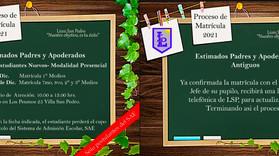 Proceso Matrícula 2021