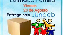 Entrega Canastas 20 Agosto
