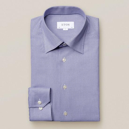 Eton Blue Dobby Shirt