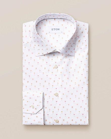 Eton Cocktail Print Shirt