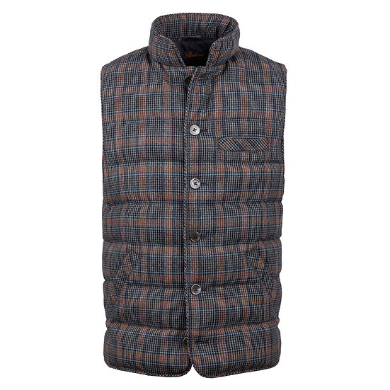 Stenstroms - Check Wool Gilet