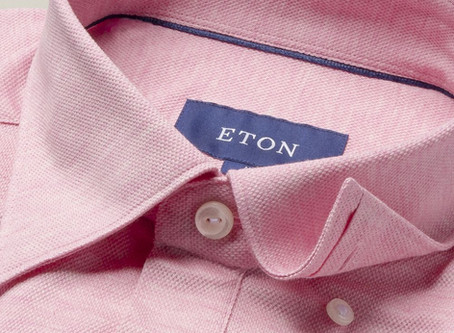 Pique fabric from Eton