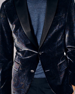 Velvet Paisley Jacket
