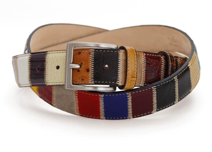 Robert Charles Patchwork Belts