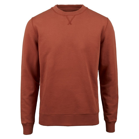Stenstroms Cotton Sweatshirt Rust