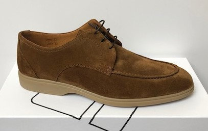 Malta - Brown Suede Loafer