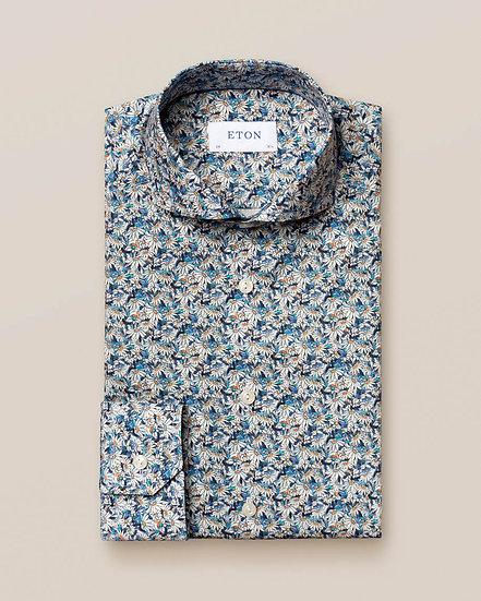 Eton Daisy Print Shirt