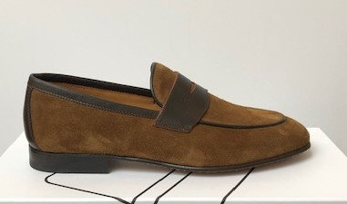 Malta Suede and Leather Loafer