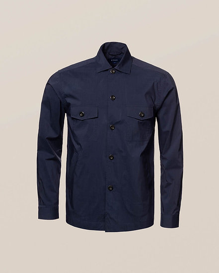 Eton Navy Windbreaker Shirt