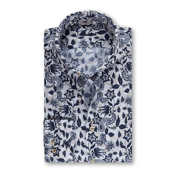 Stenstroms Linen Floral Print