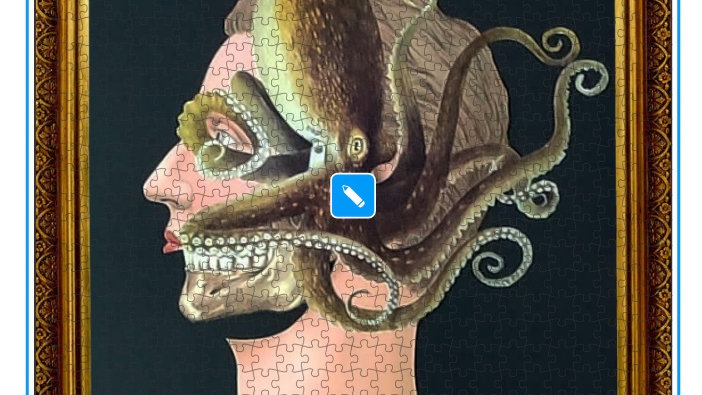 Octoman jigsaw puzzle