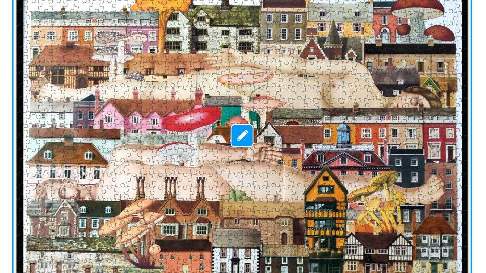 UK Corona jigsaw puzzle