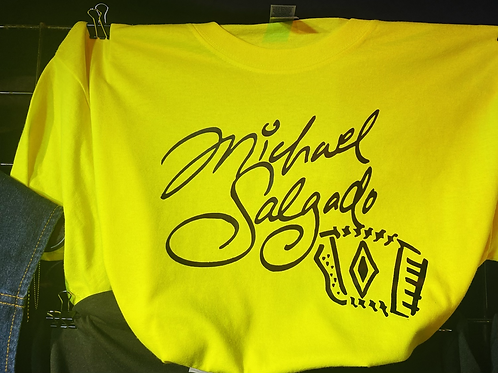 Original Michael Salgado Tee (Highlighter/black)